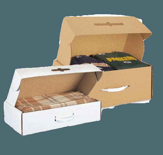 thùng carton đựng hàng may mặc