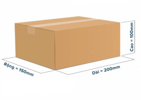 Làm mẫu thùng carton