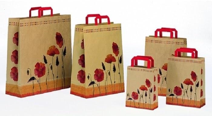 Túi giấy Kraft đẹp mắt để lại ấn tượng tốt với khách hàng