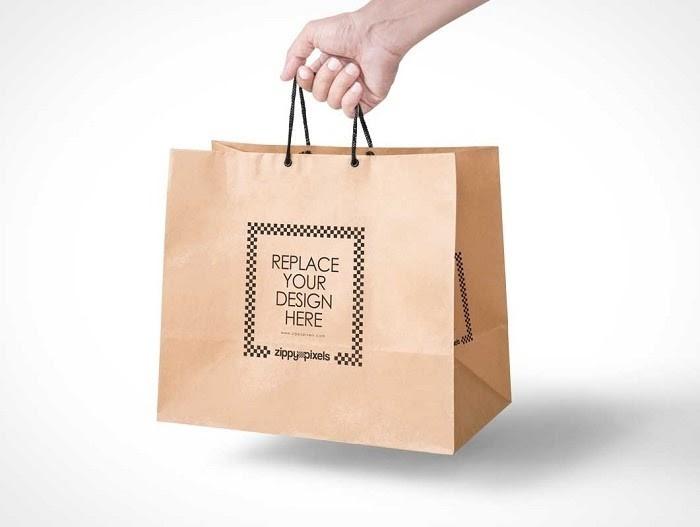 Túi giấy ngày càng được nhiều người sử dụng hơn so với túi nilong