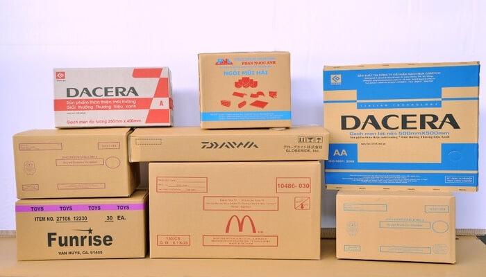 Visunpack cung cấp thùng carton in offset chất lượng cao