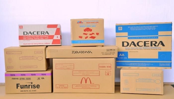 Thùng carton offset khổ lớn bảo vệ an toàn cho sản phẩm